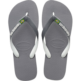 havaianas Brasil Mix Flips steel grey/white/white
